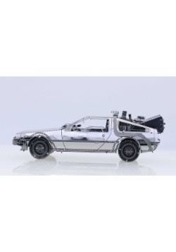 DELOREAN 3D METAL MODEL KIT BACK TO THE FUTURE