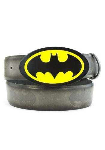 Batman Logo Buckle and Belt