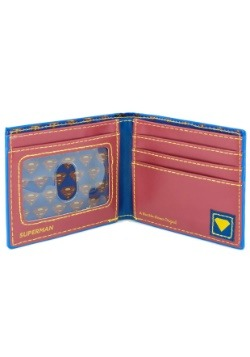 Superman Logo Rubber Wallet alt 2
