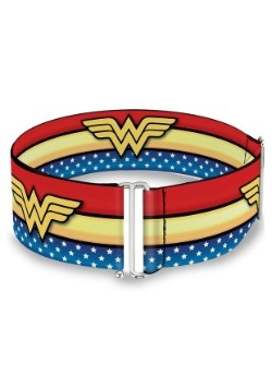 Wonder Woman Logo Star & Stripes Cinch Waist Belt