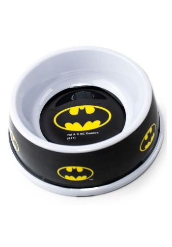 "Melamine Batman Logo Pet Bowl- 7.5"" (16OZ)"