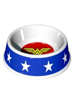 """7.5"""" (16OZ) Wonder Woman Logo Melamine Pet Bowl"""