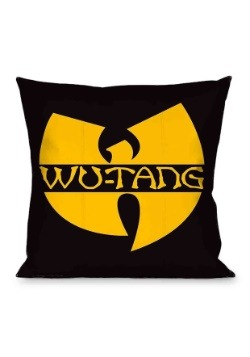 Wu-Tang Clan Logo 16X16 Throw Pillow