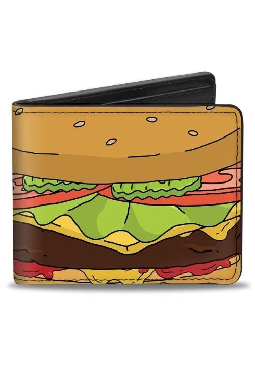 Bob's Burgers Hamburger Bi-Fold Wallet