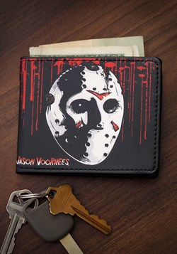 Friday the 13th Jason Mask Bi-Fold Wallet