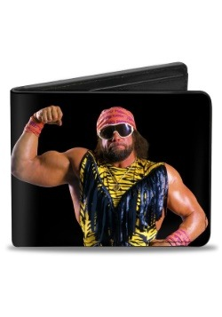 Macho Man Randy Savage WWE Bi-Fold Wallet