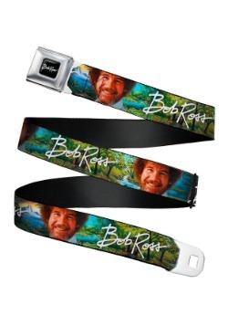 Landscapes Seatbelt Bob Ross Buckle Belt
