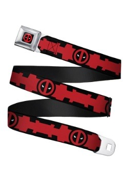 Deadpool Utility Belt Seatbelt Buckle Belt