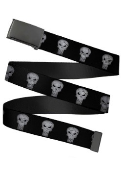 Marvel The Punisher Black Buckle Web Belt update 1