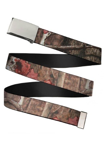 Mossy Oak Break-Up Infinity Chrome Buckle Web Belt update 1