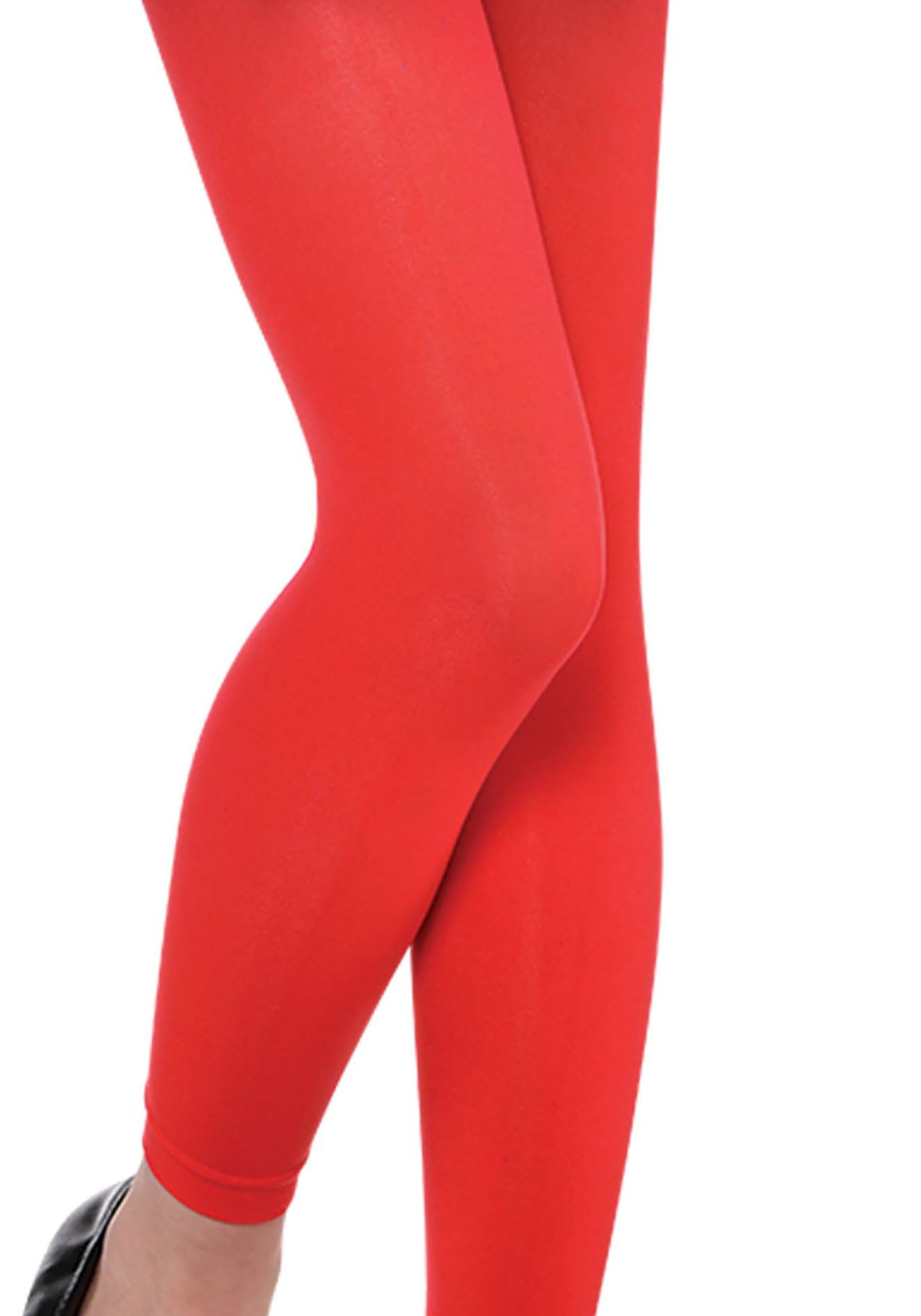 Red_Child_Footless_Tights