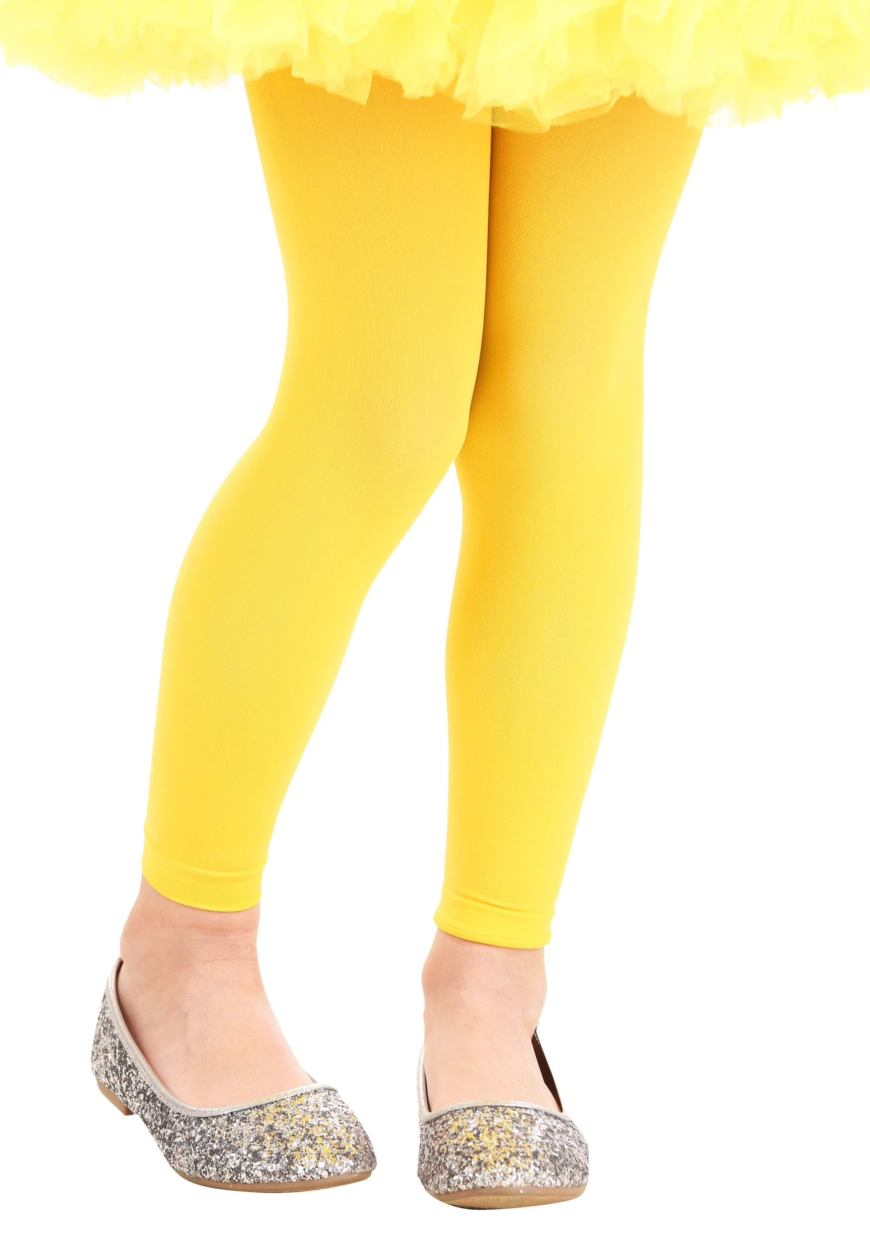 Yellow_Child_Footless_Tights
