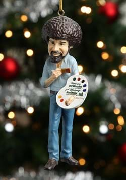 Bob Ross 5 INCH Molded Ornament