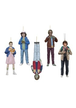 Stranger Things Resin Ornament 5 Piece Set