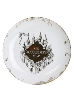Harry Potter 4pc Marauder's Map Dinnerware Set5