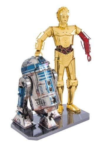 Metal Earth Star Wars R2-D2 & C-3PO 6 Sheet Model Box Set