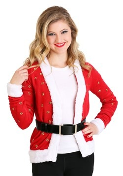 Tipsy Elves Santa Jacket Ugly Christmas Women's Cardigan