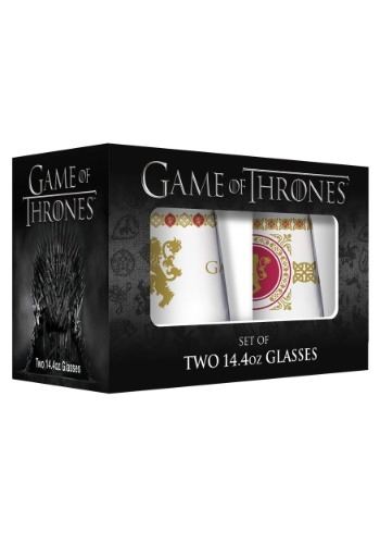 2 Pack 15 oz Lannister Stemless Wine Glasses