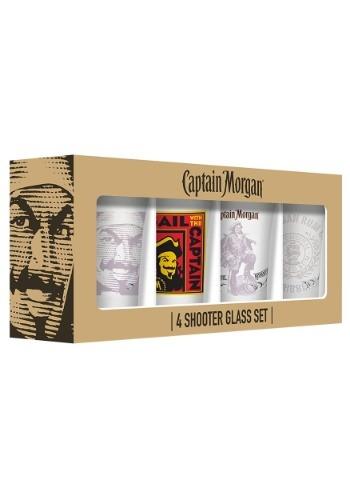 Captain Morgan Shot Glasses 4 Pack