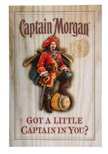 Captain Morgan 3D Wall Décor