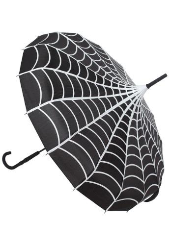 Sourpuss Spiderweb Pagoda Umbrella