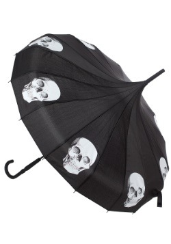 Sourpuss Clothing Skull Pagoda Umbrella