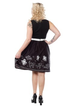 Sourpuss So Cute Its Spooky Halloween Shift Dress alt1