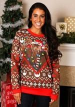 Star Wars Chewbacca Adult Ugly Christmas Sweater