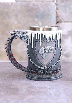 Game of Thrones House Stark Tankard