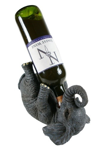 Elephant Guzzlers Wine Bottle Holder 23 cm