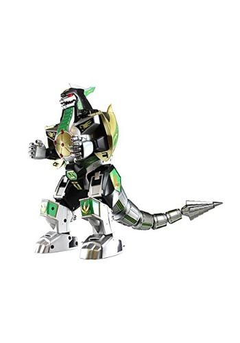 Power Rangers Legacy Dragonzord Die-Cast Metal Action Figure
