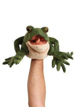 "Folkmanis Toad 11"" Puppet"