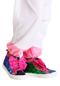 JoJo Siwa Sequined Girls Sneakers with Pink Bows
