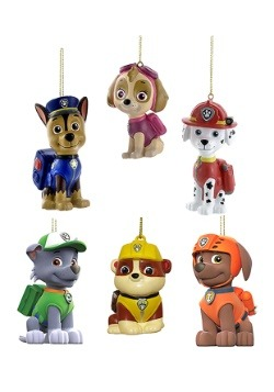 Paw Patrol 6pc Ornament Set