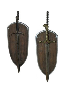 Game of Thrones Longclaw & Oathkeeper Sword Set