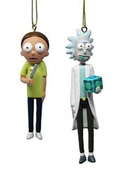 Rick & Morty Figure Ornament Set 2