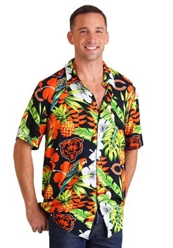 Men's Chicago Bears Floral Shirt
