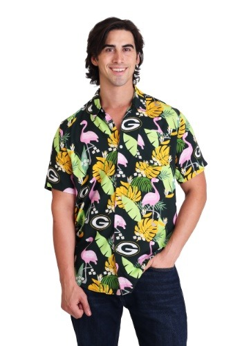 Green Bay Packers Floral Shirt