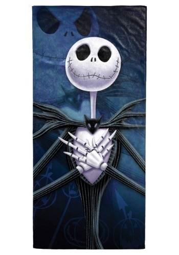 Disney Nightmare Before Christmas Jack Beach Towel