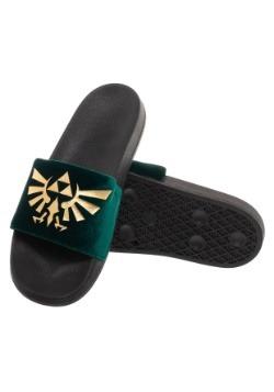 Adult Nintendo Sandals- Zelda Foil Velvet Slide 2