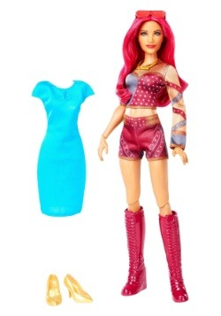 Girls Sasha Banks WWE Fashion Doll