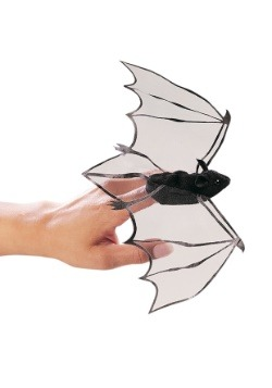 Folkmanis Mini Bat Finger Puppet