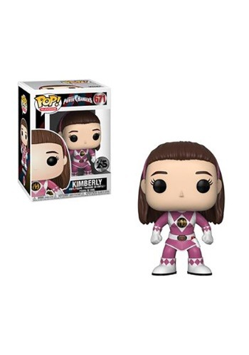 Pop! TV: Power Rangers- Pink Ranger Kimberly (no helmet)
