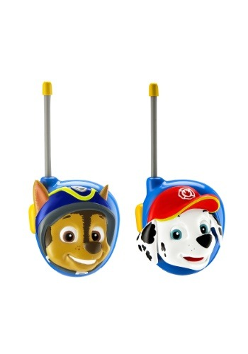 Paw Patrol Chase & Marshall Mid Range Walkie Talkies