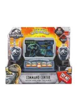 Jurassic World Walkie Talkie Mission Command Center