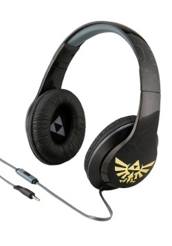 The Legend of Zelda Headphones w/ in line Microphone