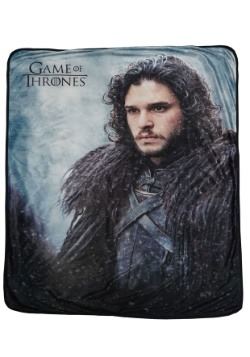 Jon Snow Game of Thrones Fleece Throw