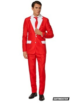 Mens Santa Suitmiester
