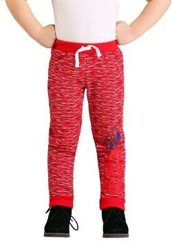 Boys Spider-Man 2-Pack Fleece Pants Alt1