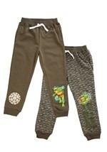 Boys TMNT 2-Pack Turtle Power Fleece Pants